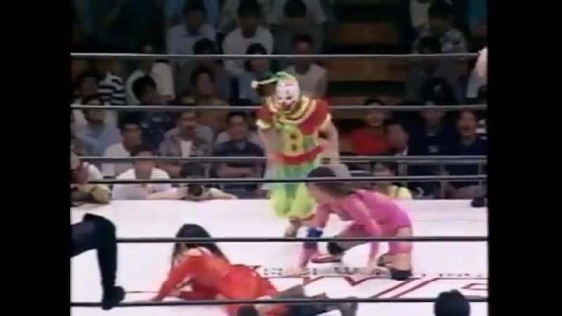 Kansai, Ozaki, Suzuki, Fukuoka vs. Masami, Mariko, Nochi, Bolshoi (JWP 7.11.1993)