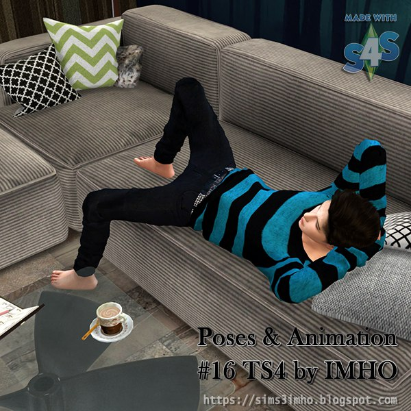 Poses & Animation #16 TS4 by IMHO