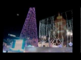 23 февраля 2013 Ледовый городок в Екатеринбурге Киношка