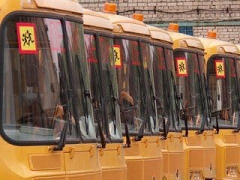 Вести-Калуга. Более 70 новых машин пополнили парк «Школьного автобуса» - Вести 24
