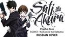 Psycho Pass ED1 FULL RUS Namae no Nai Kaibutsu Cover by Sati Akura