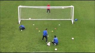 Hakan Yurtvermez Rizespor Goalkeeper Training