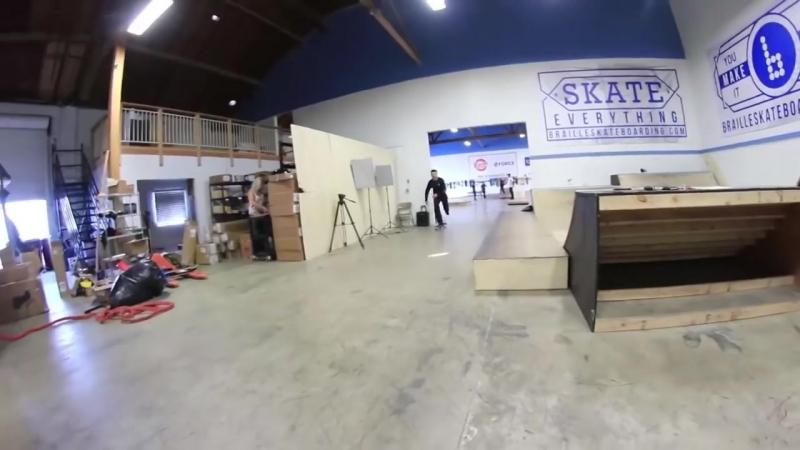 [Braille Skateboarding Russia] Челлендж на САМЫЙ ВЫСОКИЙ волрайд!