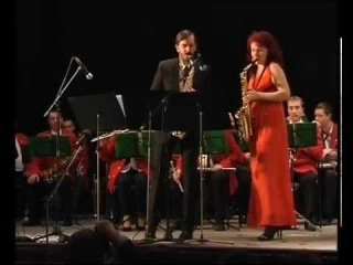 Pawel Gusnar (Poland) and Anna Stepanova (Ukraine). Pequena Czarda