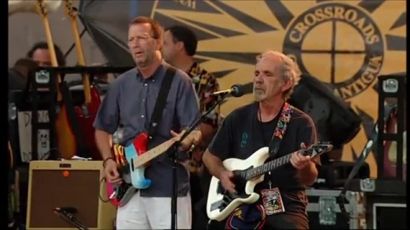 J.J. Cale_ Eric Clapton - Call Me The Breeze Live From Crossrods Guitar Festival