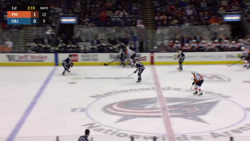 Anthony Duclair shows off incredible stick skills from knees to score amazing go
