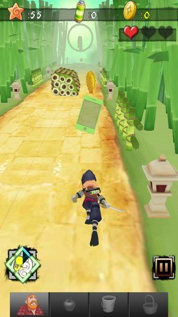 Скачать Ninja Killer: Zombies Run для android
