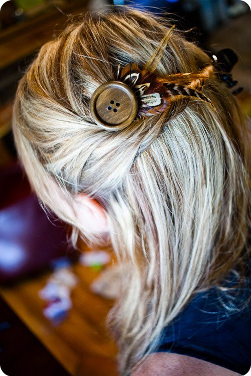 Как сделать заколку для волос своими руками из кожи