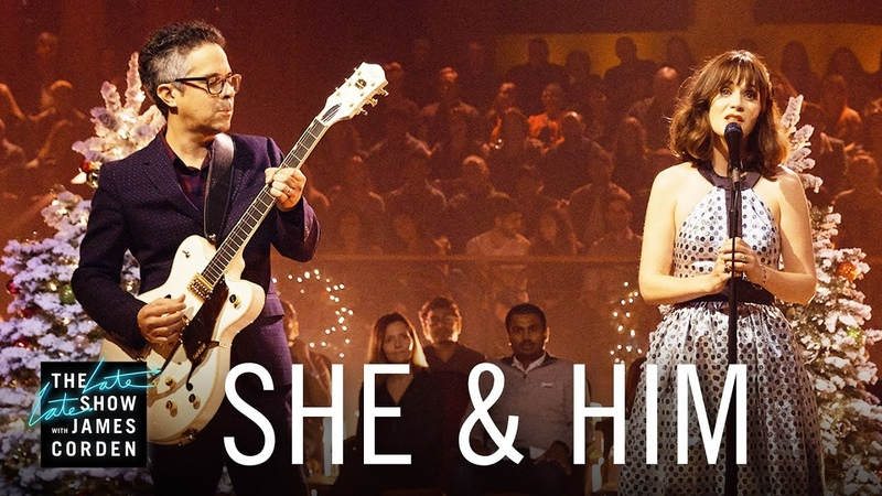 She Him - The Christmas Song (The Late Late Show with James Corden)