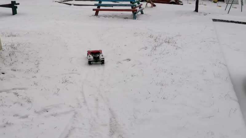 Снежные преграды на легке