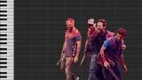 Alan Walker Vs Coldplay - Hymn For The Weekend (Piano Tutorial) HARD