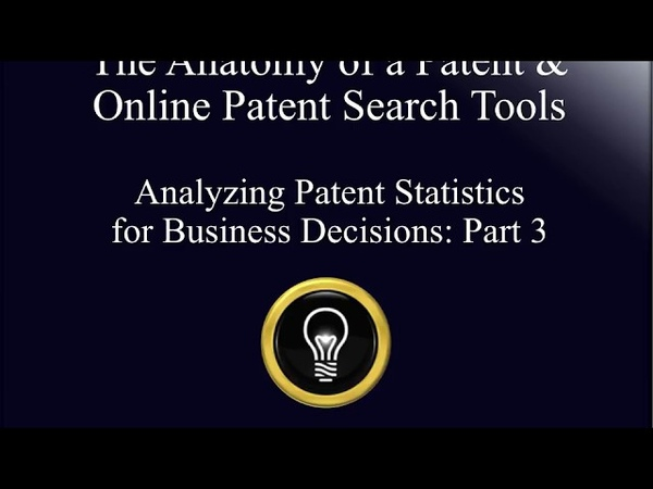 Bill Hulsey IP Patent Lawyer - Patent Stats for Business - Part 3