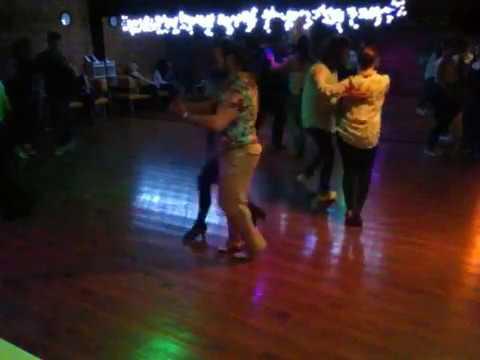Casino Cubano Party en Salsa Plus. Leonid y Victoria