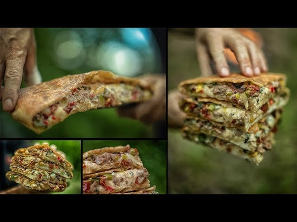 American Pie Burger \ The Forest Recipe