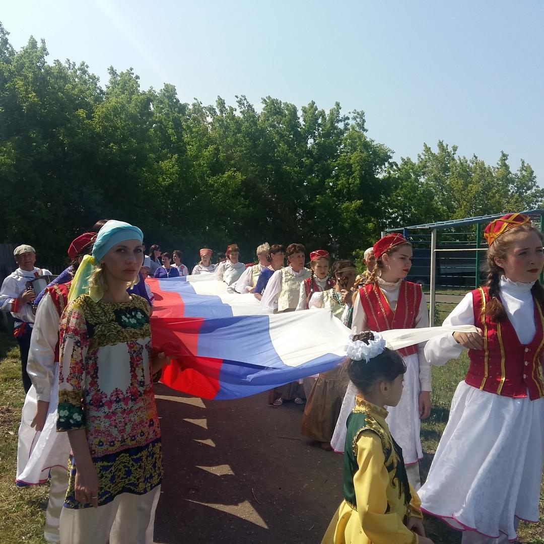 Сабантуй в селе Калда Барышского района