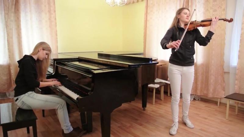 Король и Шут - Лесник - кавер на скрипке и пианино