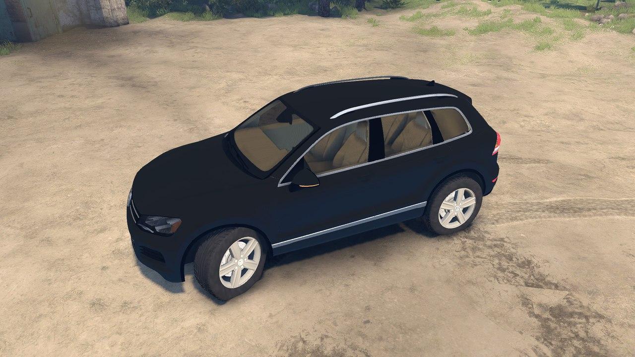Volksvagen Touareg для Spintires - Скриншот 1