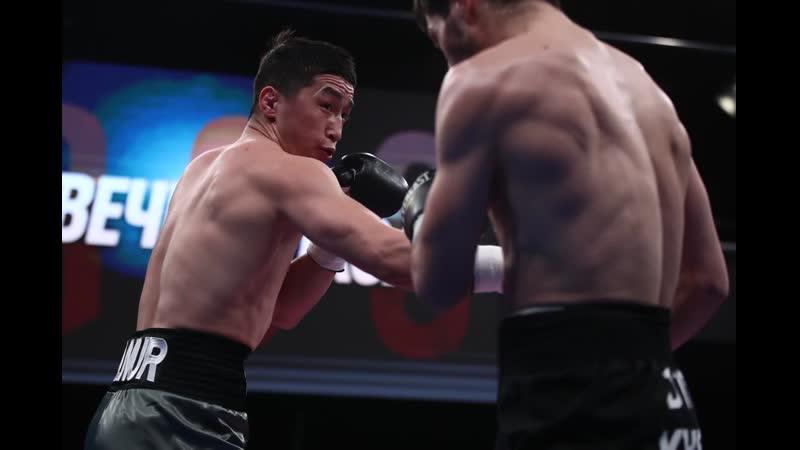 Эльнур Абдураимов (Узбекистан) — Дмитрий Хасиев (Россия)   НОКАУТ   Полный бой HD