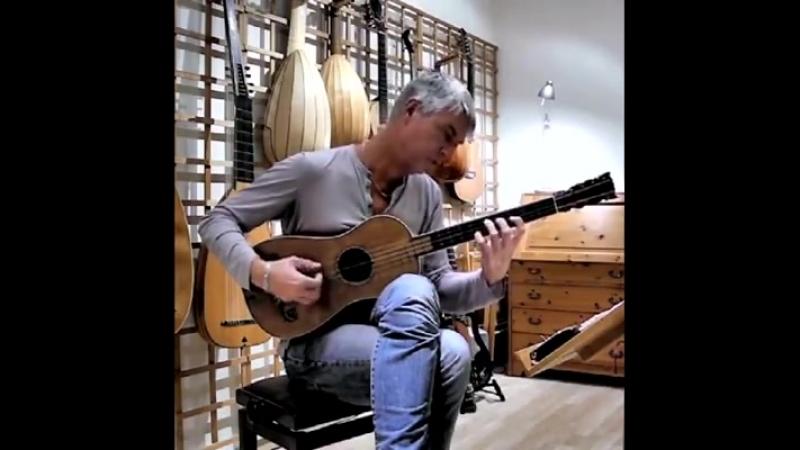 Так звучит единственная сохранившаяся гитара Страдивари 1679 года Рольф Лислеванд исполняет тарантеллу Сантьяго де Мурсии