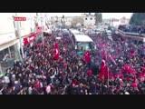 Как народ Турции сопровождал своих героев в бой за Африн!