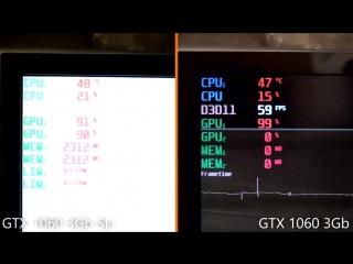 [SPC] NVIDIA GTX 1060 SLI тестируем в играх