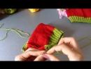Как связать детскую шапочку клубничку(1)