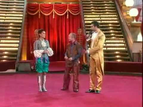 Яна Шаникова и Евгений Стычкин в ТВ- проекте Цирк со звездами 2007