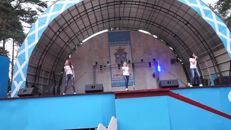 ДискоГруппа Рандеву, выступление на день города Сортавала