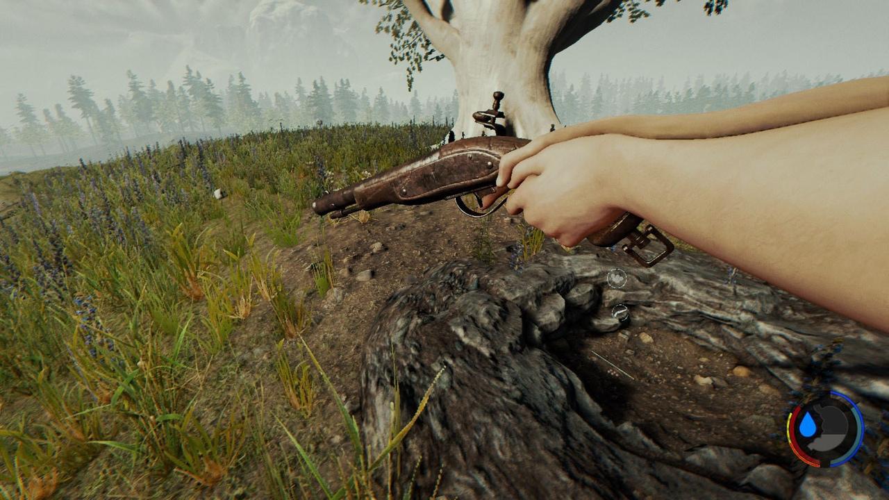 оружие в The Forest