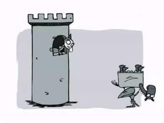 Мультик про Рыцаря и Принцессу (очень смешно)!!!