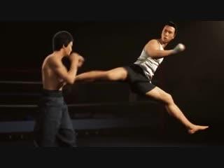 ✩ Памяти Брюса Ли Animation dedicated Donnie Yen and Bruce Lee (2013)