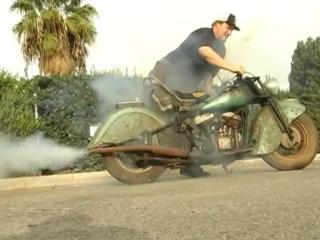 Мотоцикл Indian Chief 1948 года возвращается к жизни