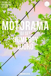 16/08 MOTORAMA (DJ SET) @ CUBE BAR
