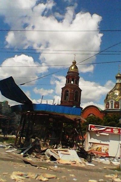 Снова был обстрелян Александро-Невский кафедральный собор.