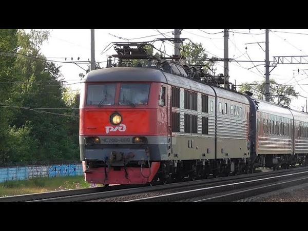 ЧС200-009 с пассажирским поездом Санкт-Петербург - Москва