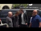 Дэниел, Фрэнк Диллэйн и Дэйтон Калли прибыли на автограф-сессию в рамках «Комик-Кона» в Сан-Диего, Калифорния, США   22.07.17