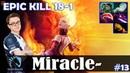 Miracle - Lina MID EPIC KILL 18-1 Dota 2 Pro MMR Gameplay 13