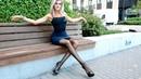 Long legs pantyhose Pencil skirt Запах Женщины Моей