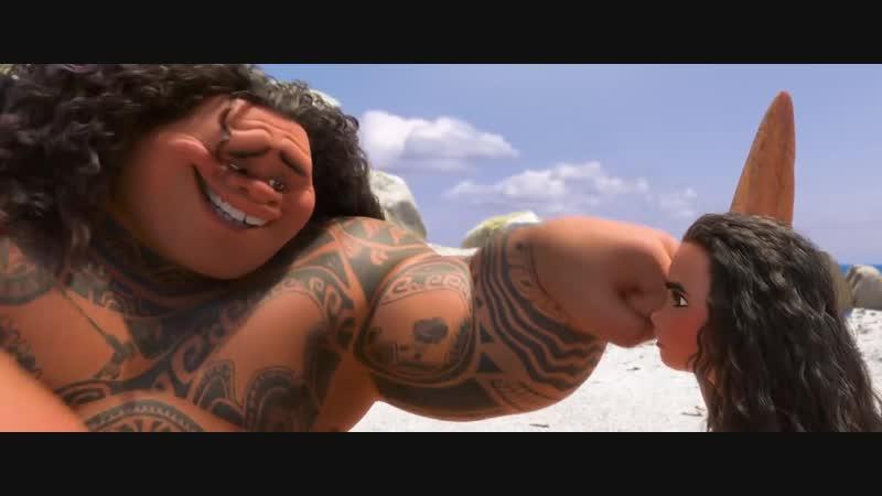 "Мауи - Песня ""Спасибо"". Полная версия мф Моана"