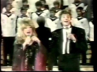 "Barry Manilow & Alla Pugachova - ""One voice"" (1987 Vena, Budapesht)"
