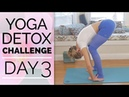 Day 3 - Hip Opening - Yoga Detox Challenge (30 Min) Yoga for Your Hips