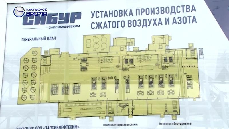 СИБУР ЗапСибНефтехим Запуск новой установки