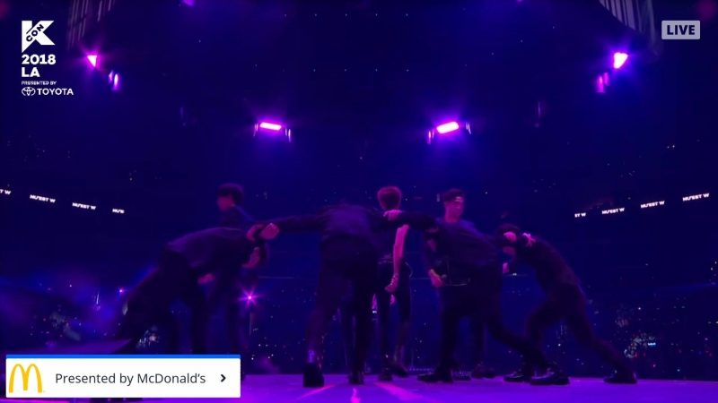 [LIVE] NU'EST W - Dejavu Where You At Polaris Look Разговорная часть (12.08.18)