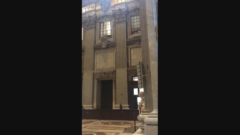Ватикан Италия Собор Св Петра смотреть онлайн без регистрации