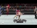 Womens Universe 78 WrestleMania Botch and win Eva Rosa vs Mandy Sonya WWE2K18