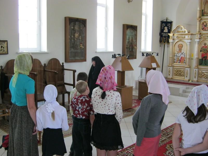 """Дети из """"Волжанки"""" посетили монастырь 3"""