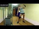 100 жимов гири 24 кг на время ( 100 weights 24 kg at a time)