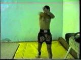 Арсалан Батуев. Бой с тенью. Видео для рекламы матчевой встречи Улан-Удэ vs Ангарск