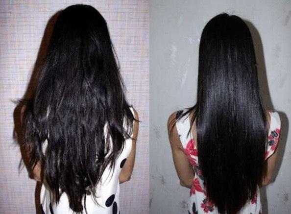 Маска с желатином для ламинирования волос