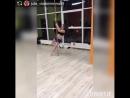 @ julia_vladimirovna89 на тренировке Exotic Pole Dance  Тренер @ eva_rudneva_fitness_bikini